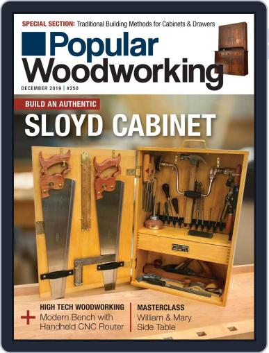 Popular Woodworking December 1st, 2019 Digital Back Issue Cover