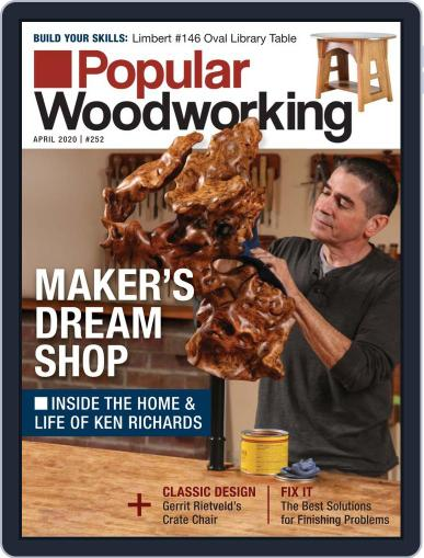 Popular Woodworking April 1st, 2020 Digital Back Issue Cover