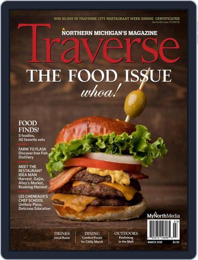 Traverse, Northern Michigan's March 1st, 2018 Digital Back Issue Cover