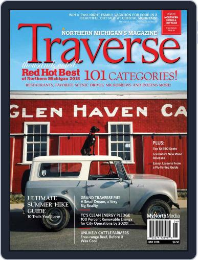 Traverse, Northern Michigan's June 1st, 2018 Digital Back Issue Cover