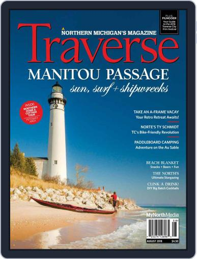 Traverse, Northern Michigan's August 1st, 2018 Digital Back Issue Cover