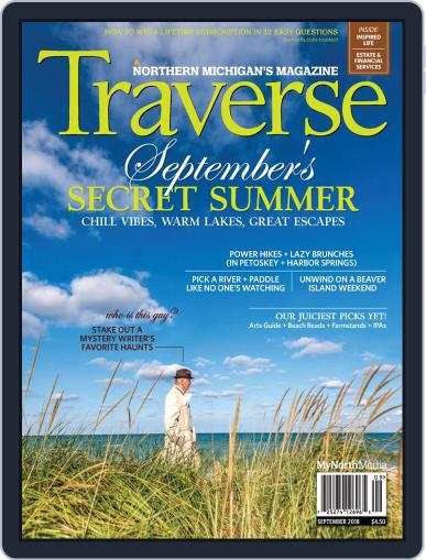 Traverse, Northern Michigan's September 1st, 2018 Digital Back Issue Cover
