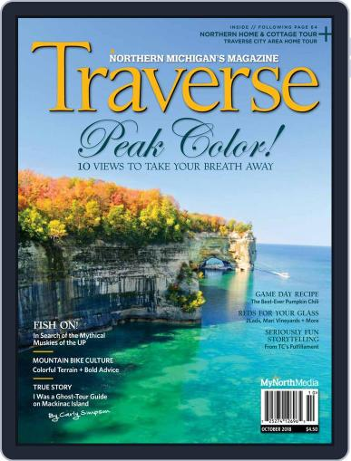 Traverse, Northern Michigan's October 1st, 2018 Digital Back Issue Cover