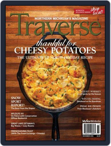 Traverse, Northern Michigan's November 1st, 2018 Digital Back Issue Cover