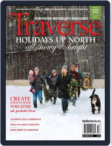 Traverse, Northern Michigan's December 1st, 2018 Digital Back Issue Cover
