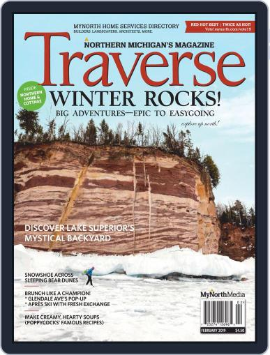 Traverse, Northern Michigan's February 1st, 2019 Digital Back Issue Cover