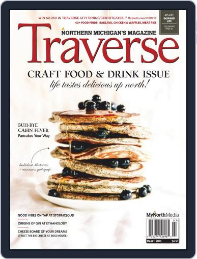 Traverse, Northern Michigan's March 1st, 2019 Digital Back Issue Cover