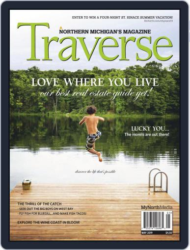 Traverse, Northern Michigan's May 1st, 2019 Digital Back Issue Cover