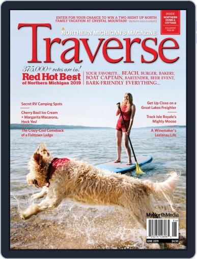 Traverse, Northern Michigan's June 1st, 2019 Digital Back Issue Cover