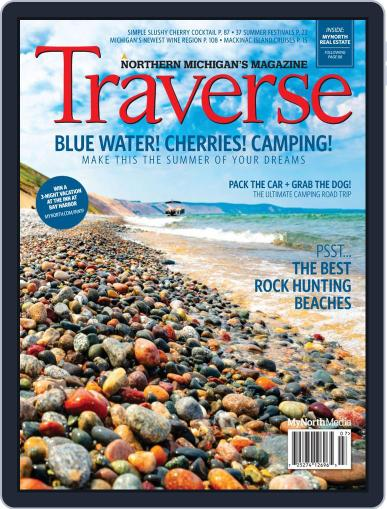 Traverse, Northern Michigan's July 1st, 2019 Digital Back Issue Cover