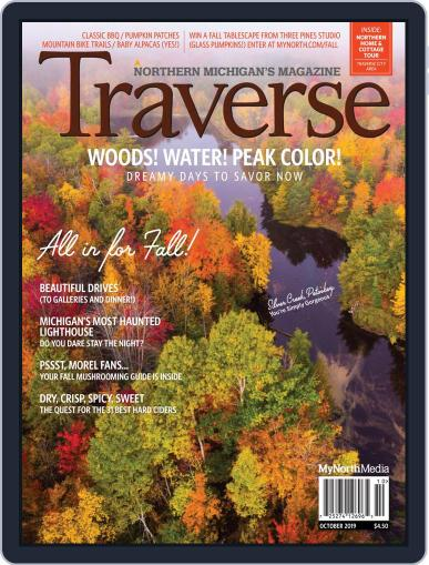 Traverse, Northern Michigan's October 1st, 2019 Digital Back Issue Cover