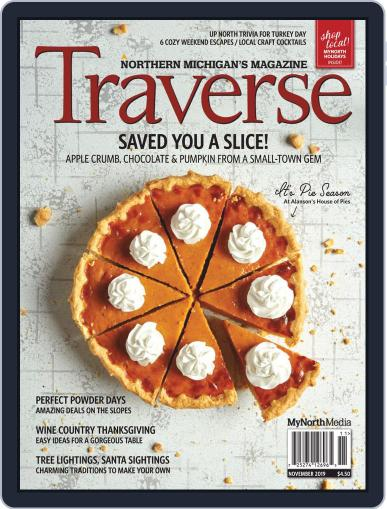 Traverse, Northern Michigan's November 1st, 2019 Digital Back Issue Cover