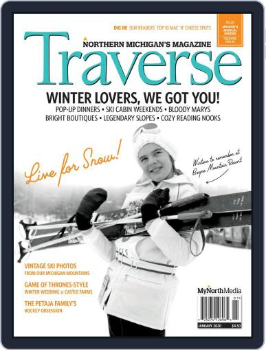 Traverse, Northern Michigan's January 1st, 2020 Digital Back Issue Cover