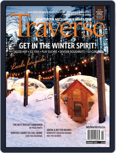 Traverse, Northern Michigan's February 1st, 2020 Digital Back Issue Cover