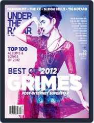 Under the Radar (Digital) Subscription December 27th, 2012 Issue
