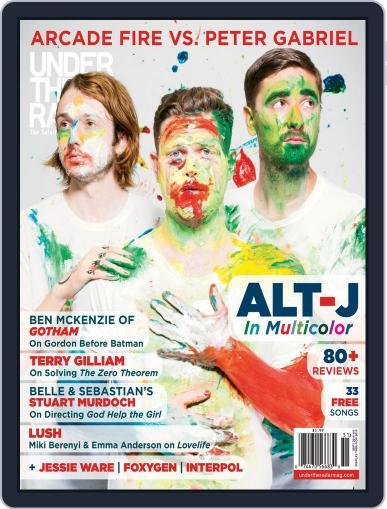 Under the Radar September 3rd, 2014 Digital Back Issue Cover