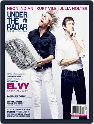 Under the Radar November 1st, 2015 Digital Back Issue Cover
