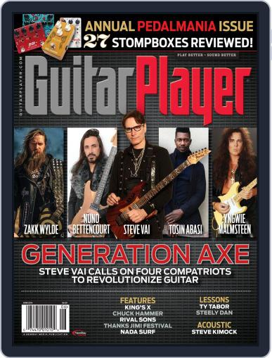 Guitar Player June 1st, 2016 Digital Back Issue Cover
