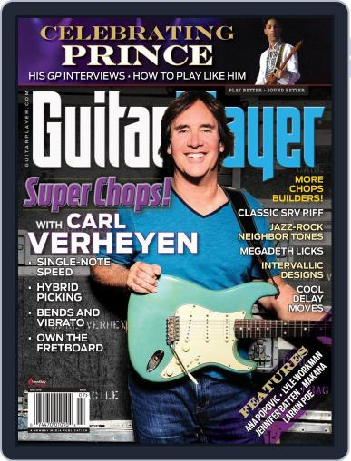 Guitar Player July 1st, 2016 Digital Back Issue Cover