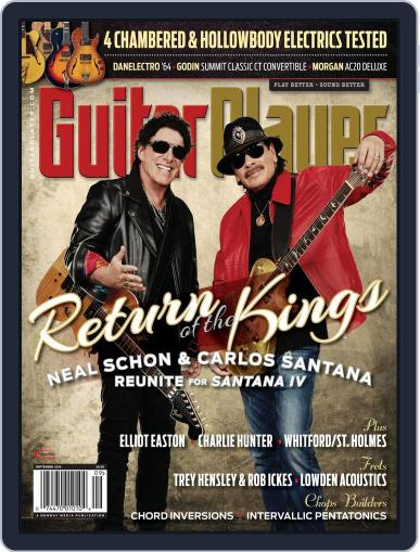 Guitar Player September 1st, 2016 Digital Back Issue Cover
