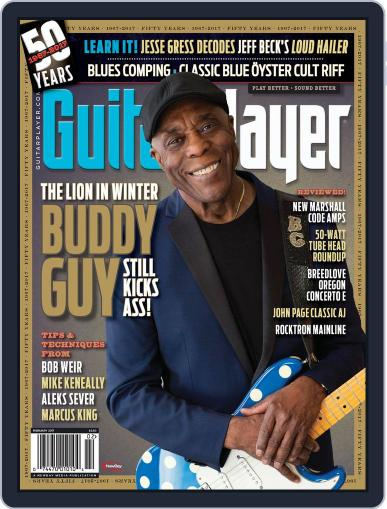 Guitar Player February 1st, 2017 Digital Back Issue Cover