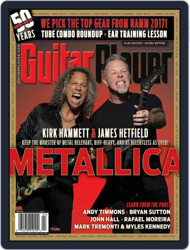 Guitar Player April 1st, 2017 Digital Back Issue Cover