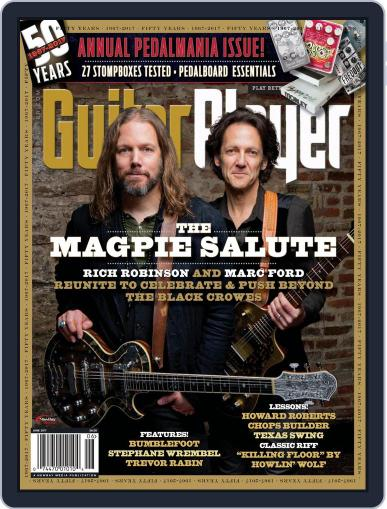 Guitar Player June 1st, 2017 Digital Back Issue Cover