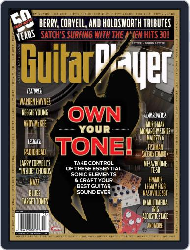 Guitar Player July 1st, 2017 Digital Back Issue Cover