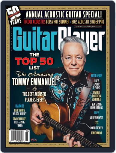 Guitar Player August 1st, 2017 Digital Back Issue Cover