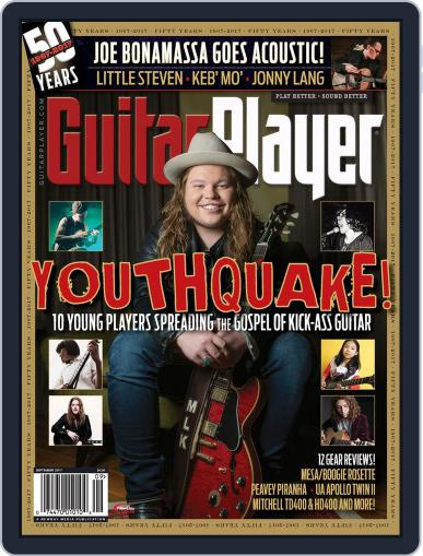 Guitar Player September 1st, 2017 Digital Back Issue Cover
