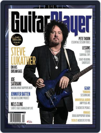 Guitar Player February 1st, 2018 Digital Back Issue Cover