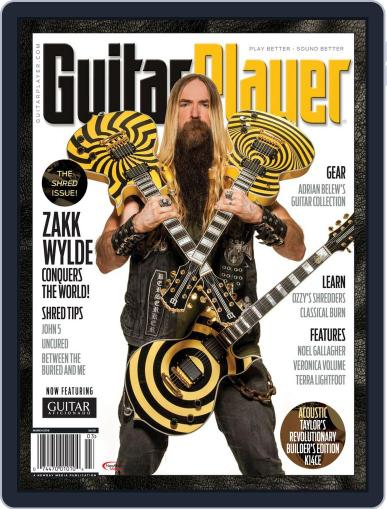 Guitar Player March 1st, 2018 Digital Back Issue Cover