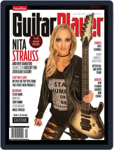 Guitar Player April 1st, 2018 Digital Back Issue Cover