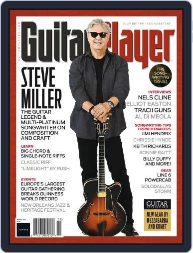 Guitar Player August 1st, 2018 Digital Back Issue Cover