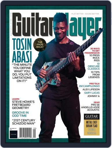 Guitar Player September 1st, 2018 Digital Back Issue Cover