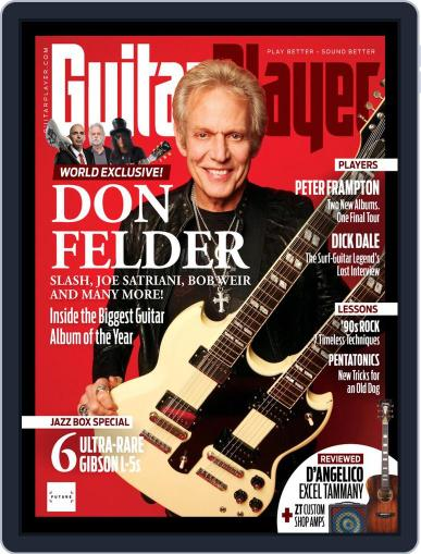 Guitar Player June 1st, 2019 Digital Back Issue Cover