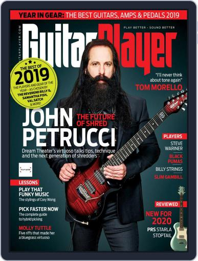 Guitar Player January 1st, 2020 Digital Back Issue Cover