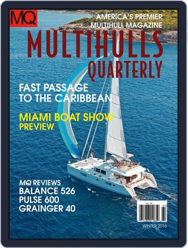 Multihulls Today January 18th, 2016 Digital Back Issue Cover