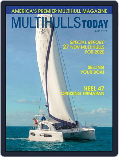 Multihulls Today July 29th, 2019 Digital Back Issue Cover