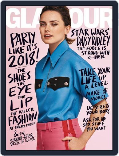 Glamour January 1st, 2018 Digital Back Issue Cover