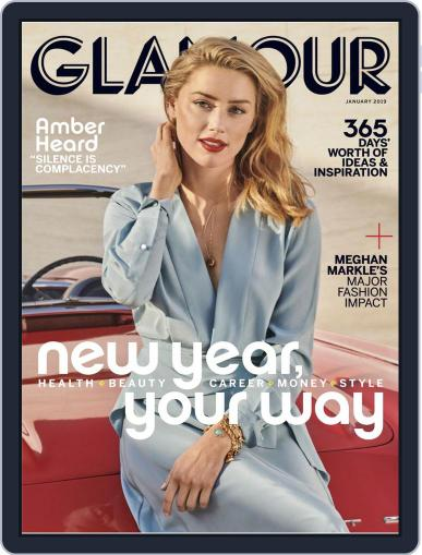 Glamour January 1st, 2019 Digital Back Issue Cover