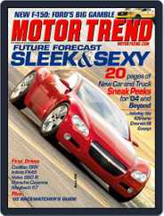 MotorTrend (Digital) Subscription February 4th, 2003 Issue