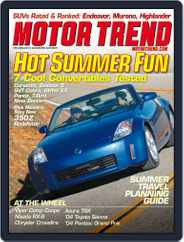 MotorTrend (Digital) Subscription April 8th, 2003 Issue