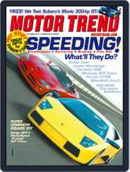 MotorTrend (Digital) Subscription May 9th, 2003 Issue