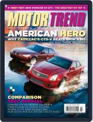 MotorTrend (Digital) Subscription June 2nd, 2009 Issue