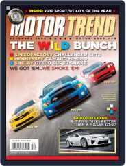 MotorTrend (Digital) Subscription November 3rd, 2009 Issue
