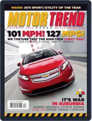 MotorTrend (Digital) Subscription November 9th, 2010 Issue