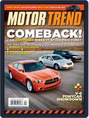 MotorTrend (Digital) Subscription January 4th, 2011 Issue