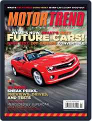 MotorTrend (Digital) Subscription February 1st, 2011 Issue