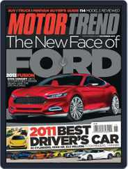 MotorTrend (Digital) Subscription October 11th, 2011 Issue